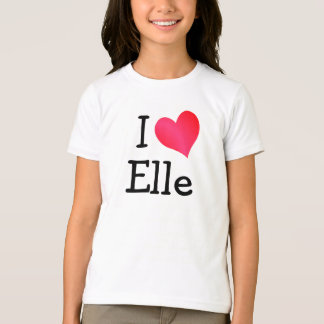 I Liebe Elle T-Shirt