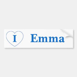 I Liebe Emma (BpS) Autoaufkleber