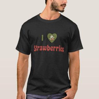 I Liebe-Erdbeeren T-Shirt