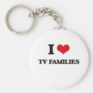 I Liebe-Fernsehfamilien Schlüsselanhänger