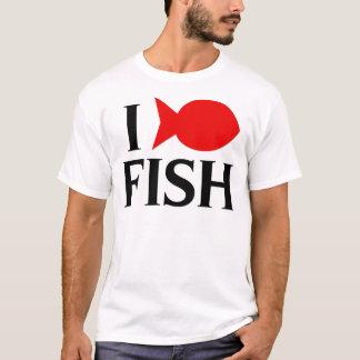 I Liebe-Fische T-Shirt