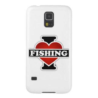 I Liebe-Fischerei Hülle Fürs Galaxy S5