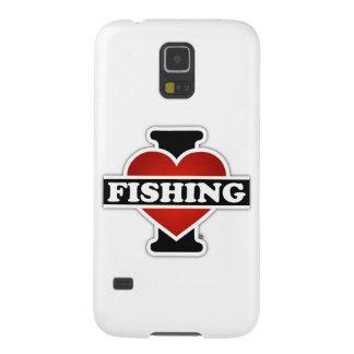 I Liebe-Fischerei Samsung Galaxy S5 Hülle