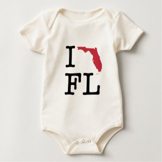 I Liebe Florida Baby Strampler