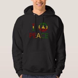I Liebe-Frieden Hoodie