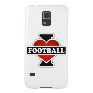 I Liebe-Fußball Galaxy S5 Hülle