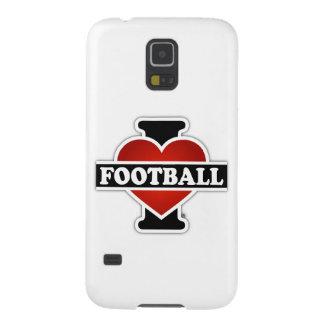 I Liebe-Fußball Hülle Fürs Galaxy S5