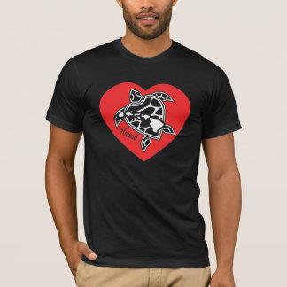 I Liebe-Hawaii-Shirt - Hawaii-Insel-Schildkröte T-Shirt