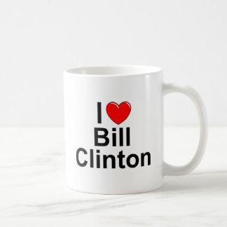 I Liebe (Herz) Bill Clinton Kaffeetasse