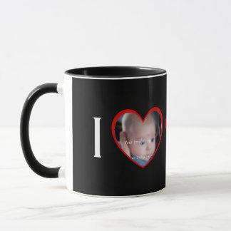 I Liebe-Herz-Foto-Tasse Tasse