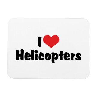 I Liebe-Herz-Hubschrauber Magnet