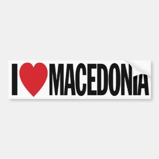 "I Liebe-Herz Macedonia 11"" 28cm Vinylabziehbild Autoaufkleber"