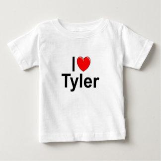 I Liebe (Herz) Tyler Baby T-shirt