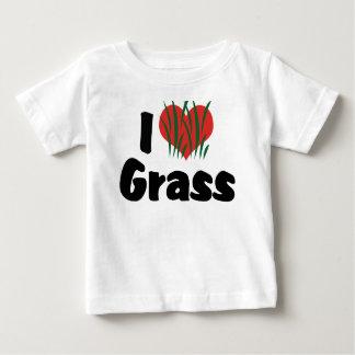 I Liebe-Herz Wheatgrass - Juicing gesundes Leben Baby T-shirt