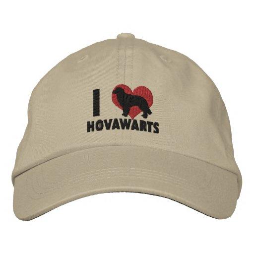 I Liebe-Hovawarts gestickter Hut Bestickte Baseballkappe