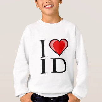 I Liebe Identifikation - Idaho Sweatshirt