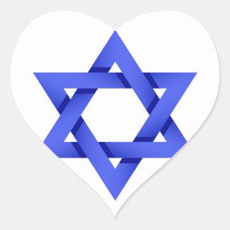 I Liebe-Israel-Aufkleber Herz-Aufkleber