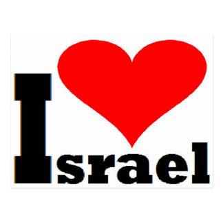 I Liebe Israel Postkarte