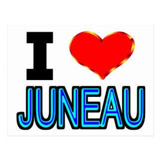 I Liebe Juneau Postkarte