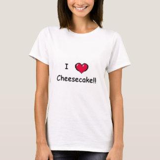 I Liebe-Käsekuchen T-Shirt
