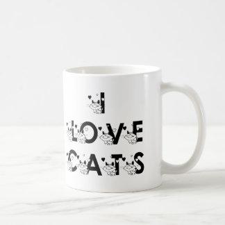 I Liebe-Katzen-Kaffee-Tasse Tasse