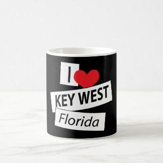 I Liebe Key West Florida Kaffeetasse
