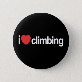 I Liebe-Klettern Runder Button 5,7 Cm