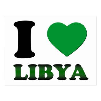 I LIEBE LIBYEN POSTKARTE