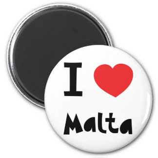 I Liebe Malta Kühlschrankmagnet