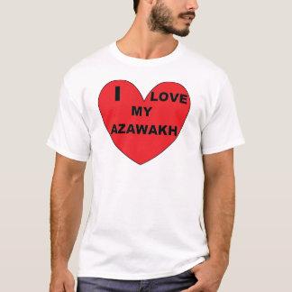 I Liebe mein Azawakh T-Shirt