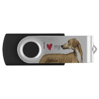 I Liebe mein Azawakh USB Stick