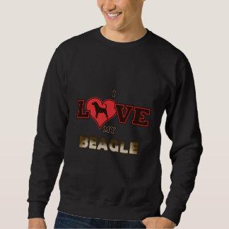I Liebe mein Beagle Sweatshirt