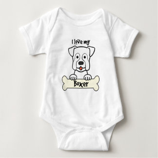 I Liebe mein Boxer T-shirt