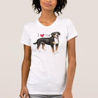 I Liebe mein Entlebucher T-Shirt