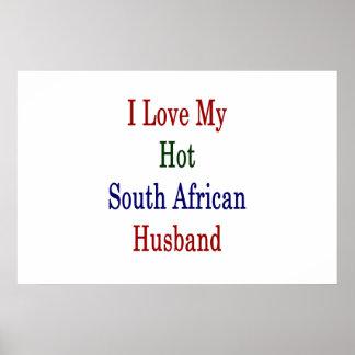 I Liebe mein heißer südafrikanischer Ehemann Poster