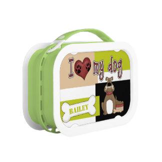 I Liebe mein Hund kundengerecht Brotdose