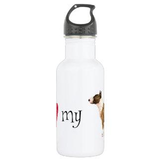 I Liebe mein Ministier-Terrier Trinkflasche