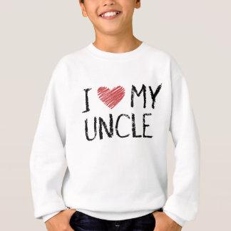 I Liebe mein Onkel Sweatshirt