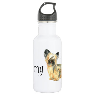 I Liebe mein Skye Terrier Trinkflasche