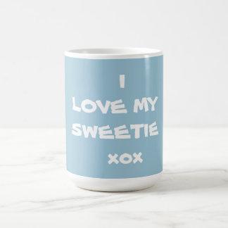 I LIEBE MEIN SWEETIE xox - Kaffee-Tasse - Schöpfer Tasse