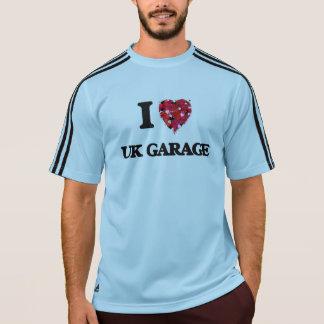 I Liebe meine BRITISCHE GARAGE T-Shirt