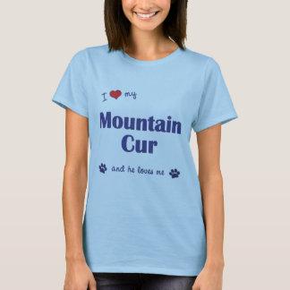I Liebe meine Gebirgskanaille (männlicher Hund) T-Shirt