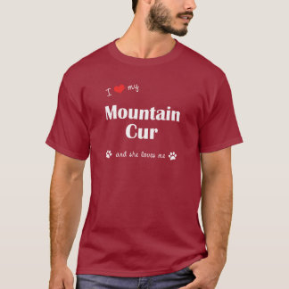 I Liebe meine Gebirgskanaille (weiblicher Hund) T-Shirt