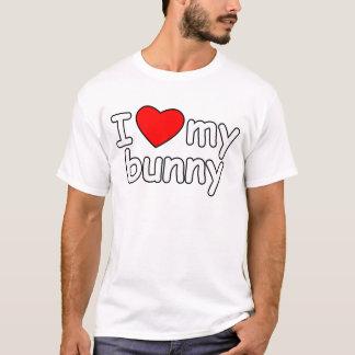 I Liebe meine Häschen-Kaninchenherz bunnie T-Shirt