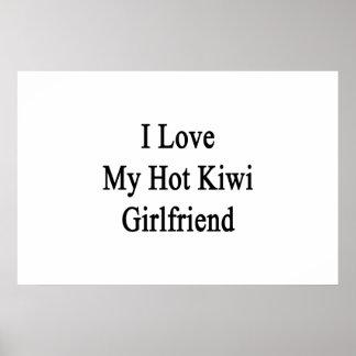 I Liebe meine heiße Kiwi-Freundin Poster
