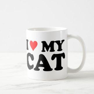 I Liebe meine Katze Tasse