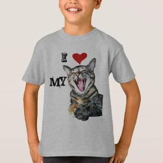 I Liebe meine Katzen-kundengerechte Schablone T-Shirt