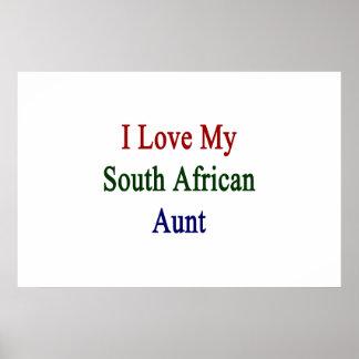 I Liebe meine südafrikanische Tante Poster