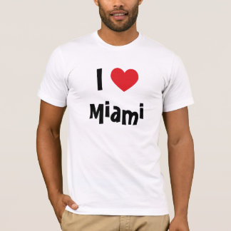 I Liebe Miami T-Shirt