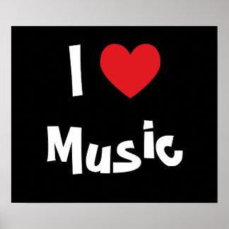 I Liebe-Musik Poster